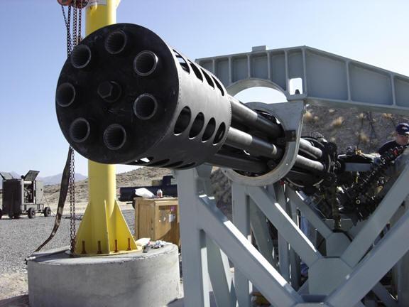 Gatling Design gatling gun